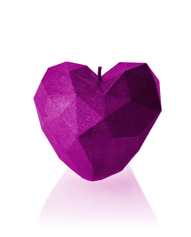 Speciale premium hart kaars