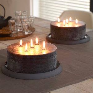 Schitterdende kaarsen voor in de chic horeca