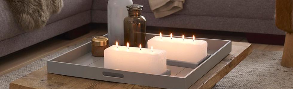 Bolsius rustiek multi-lont kaarsen 3 - 4 - 5 lonten
