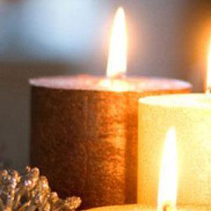 Bolsius rustiek metalliek kaarsen