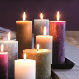 Rustiek xxl kaarsen