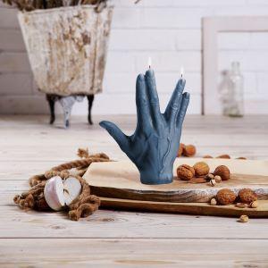 Middel -ringvinger VOORSPOED kaars
