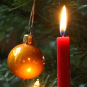 Kerstboomkaarsjes