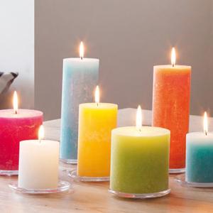Gekleurde kaarsen