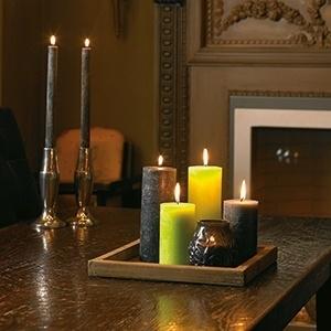 Horeca rustiek kaarsen