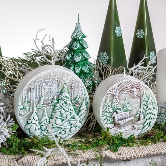 Kerst Winterlandschap