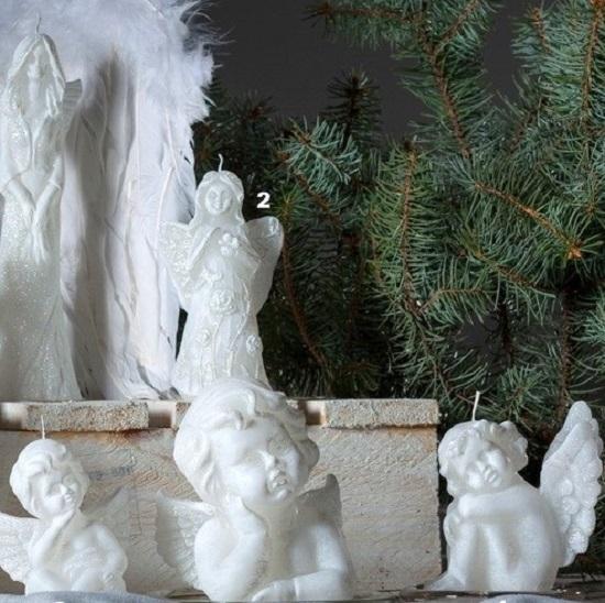 Engelen kaarsen