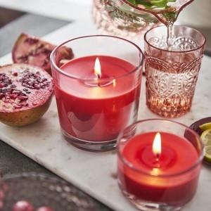 Geurglas kaarsen