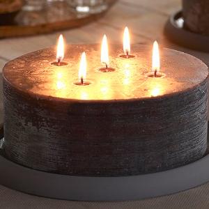 Rustiek multi lonten kaarsen
