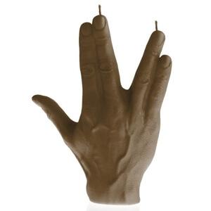 Middel -ringvinger gespreid kaars