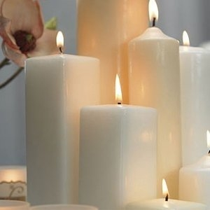 Vierkante kaarsen