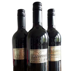 Wijnflessen bedrukken