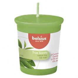 Bolsius votive groene thee - green tea geurkaars 53/45 (15 uur)