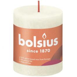 Bolsius ivoor rustiek stompkaarsen 80/68 (35 uur) Eco Shine Soft Pearl