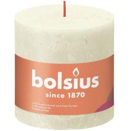Bolsius ivoor rustiek stompkaarsen 100/100 (62 uur) Eco Shine Soft Pearl
