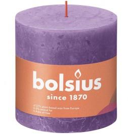 Bolsius violet rustiek stompkaarsen 100/100 (62 uur) Eco Shine Vibrant Violet