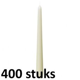 Horeca dinerkaarsen ivoor 245/23 400 stuks