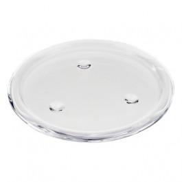 Stevige transparant glazen kaarsen onderzetter