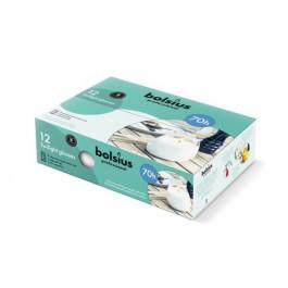 6 stuks taupe twilights lowboys van Bolsius in voordeel verpakking