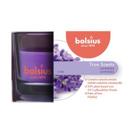 Bolsius geurglas lavendel - lavender geurkaarsen 50/80
