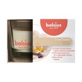 Bolsius geurglas vanille - vanilla geurkaarsen 50/80