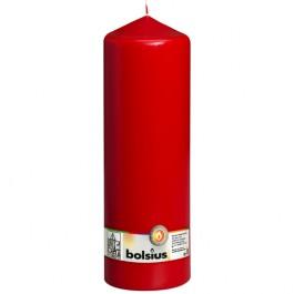 Rood stompkaars 300/100 Bolsius