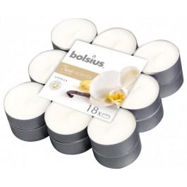 18 stuks geurtheelichtjes vanille Bolsius