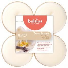 Bolsius vanille - vanilla maxi geurtheelichtjes 8 stuks