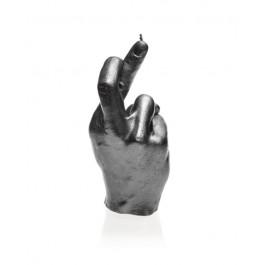 Prachtig staal gelakte Hand CRS figuurkaars