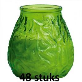 Horeca lowboys in de lime kleur 100/100 48 stuks