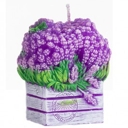 Violet Lavendel Doos Geurkaars