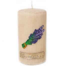 Beige Lavendel Provence Stompkaars 80/150 (75uur)
