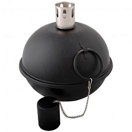 Zwartkleurige tuimeltoorts 21 cm in diameter