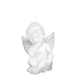 Witte engel figuurkaars nr. 3