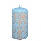 Lichtblauwe Marokko stompkaars 130/70