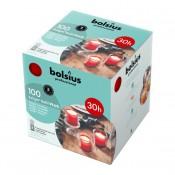 100 stuks Bolsius relight refill kaarsen 30 uurs