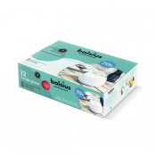 6 stuks fuchsia twilights lowboys van Bolsius in voordeel verpakking