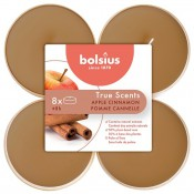 Bolsius appel kaneel - apple cinnemon maxi geurtheelichtjes 8 stuks
