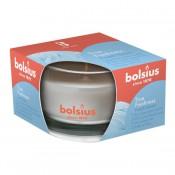 Bolsius geurglas fris linnengoed - fresh linen geurkaarsen 50/80 (13 uur) True Freshness