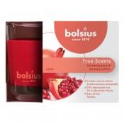 Bolsius geurglas granaatappel - pomegranate geurkaarsen 63/90