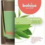 Bolsius geurglas groene thee - green tea geurkaars 95/95