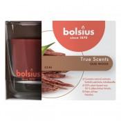 Bolsius geurglas oud hout - oud wood geurkaarsen 63/90