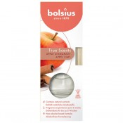 Bolsius geurstokjes appel kaneel - apple cinnamon geurverspreiders 45 ml True Scents