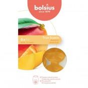 Bolsius wax melts mango geur 6 stuks (25 uur)