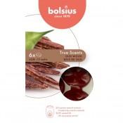 Bolsius wax melts vanille - vanilla geur 6 stuks (25 uur)