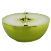 Groene appel halve bol geurkaars 50/100 (27 uur)
