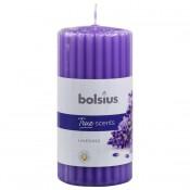 Lila Bolsius geurkaars met lavendel geur 120/58