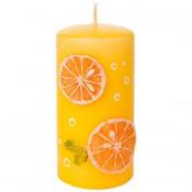 Sinaasappel Stompkaars 150/80 (83 uur)