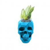 Luxe interieur bloempot in de vorm van schedel