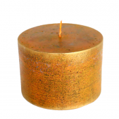 Terracotta loft rustiek stompkaars 70/100